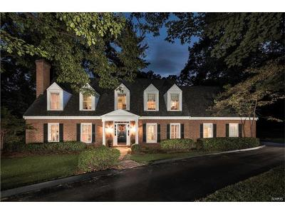 Ladue Single Family Home For Sale: 9848 Wild Deer Road