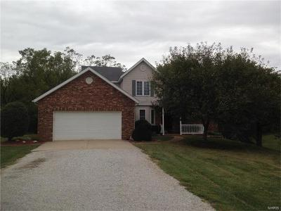 Edwardsville Single Family Home For Sale: 7164 Horseshoe Bend