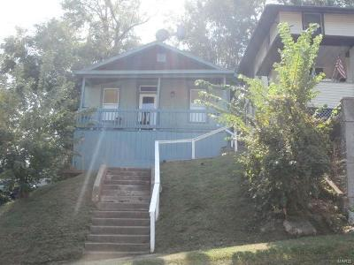 Hannibal MO Single Family Home For Sale: $35,000