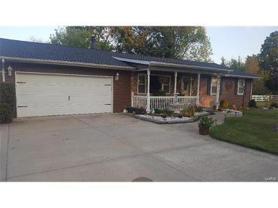 Edwardsville Single Family Home For Sale: 3630 Wanda Road