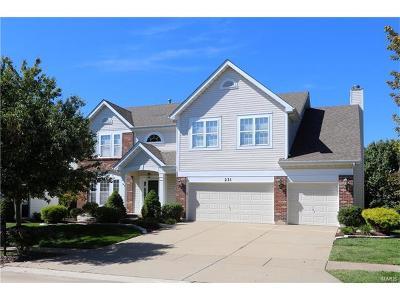 O'Fallon Single Family Home For Sale: 231 Chestnut Hill
