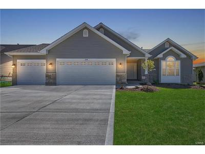 Wentzville Single Family Home For Sale: Huntington - Stone Ridge Canyo