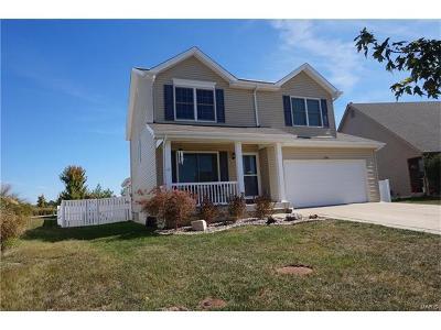 O'Fallon Single Family Home For Sale: 336 Wabash Woods Way