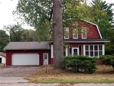 Fairview Heights Single Family Home For Sale: 514 St Clair Road