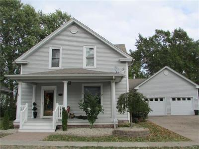 Jerseyville Single Family Home For Sale: 413 South Arch Street