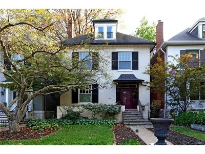 St Louis Single Family Home For Sale: 4904 Pershing Place