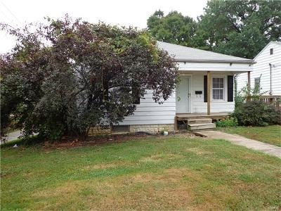 Alton IL Single Family Home For Sale: $50,000