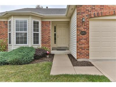 Chesterfield Condo/Townhouse For Sale: 14703 Ladue Bluffs Crossing Drive