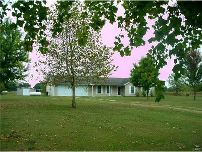 New London MO Single Family Home Contingent No Kickout: $128,900