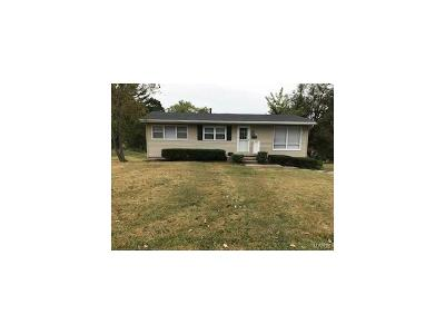 Hannibal MO Single Family Home For Sale: $118,950