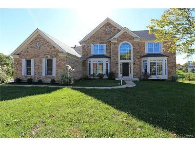 Ballwin Single Family Home For Sale: 832 Heatherhaven Drive