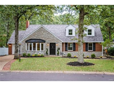 St Louis County Single Family Home For Sale: 1128 Cheshire Lane