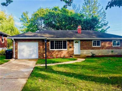 St Louis Single Family Home For Sale: 9616 Jesse Drive