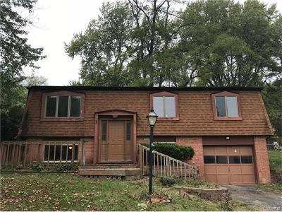 Godfrey IL Single Family Home For Sale: $68,500