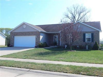 Godfrey IL Single Family Home For Sale: $179,900
