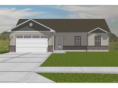 Caseyville New Construction For Sale: 7933 Laurel Flats