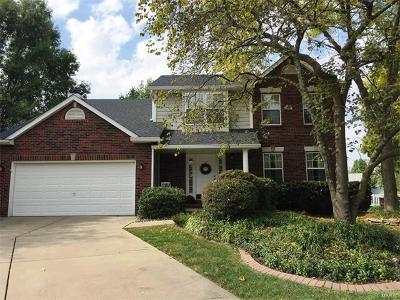 Edwardsville Single Family Home For Sale: 3 Orchid Court