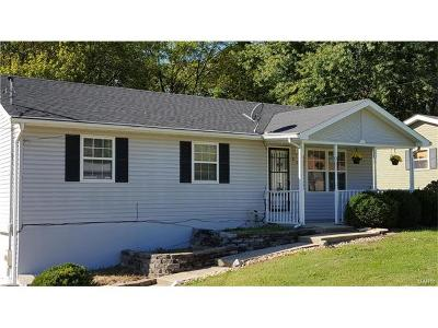Caseyville Single Family Home For Sale: 806 Hollywood Heights Road