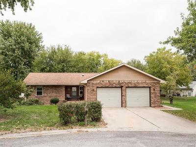 Mascoutah IL Single Family Home For Sale: $159,900