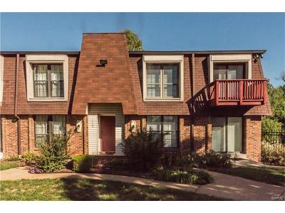 St Louis County Condo/Townhouse For Sale: 1175 Appleseed Lane #D