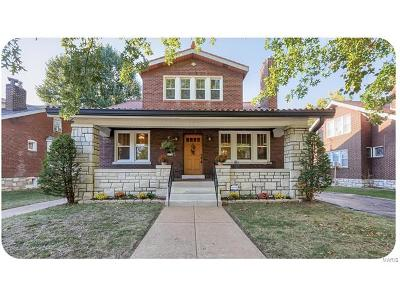St Louis Single Family Home For Sale: 6815 Leona