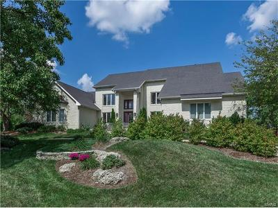 Belleville, Collinsville, Edwardsville, Glen Carbon, Highland, O Fallon, St Jacob, Swansea, Troy, Caseyville, Columbia, Fairview Heights, Lebanon, Mascoutah, Millstadt, New Baden, Shiloh, O'fallon Single Family Home For Sale: 44 Sunset Hills