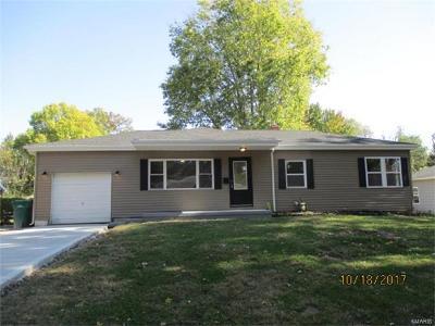Belleville Single Family Home For Sale: 6921 West C Street