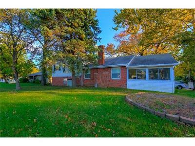 Alton IL Single Family Home For Sale: $93,000