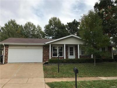 St Louis County Single Family Home For Sale: 1602 Dover Trace
