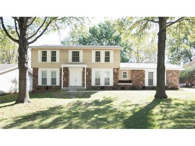 St Louis Single Family Home For Sale: 314 Windsor Spring Drive