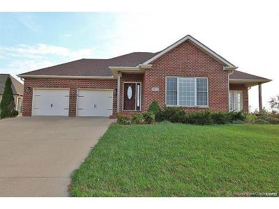 Scott County, Cape Girardeau County, Bollinger County, Perry County Single Family Home For Sale: 6107 Cardrona