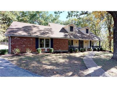 Wildwood Single Family Home For Sale: 1824 Oak Tree Ridge Road