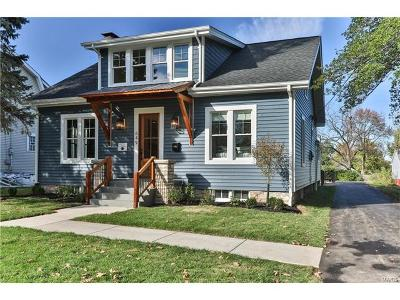 Webster Groves Single Family Home For Sale: 649 North Forest