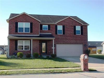 Mascoutah Single Family Home For Sale: 9640 Weatherby Street