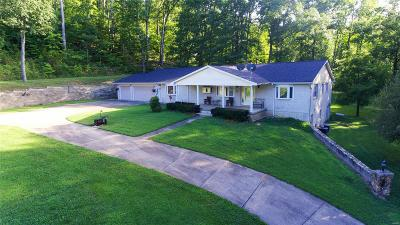 Fredericktown Farm For Sale: 29387 Coldwater Creek Road
