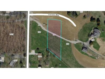 Wentzville Residential Lots & Land For Sale: 206 Corona .79ac Way #Lot 6