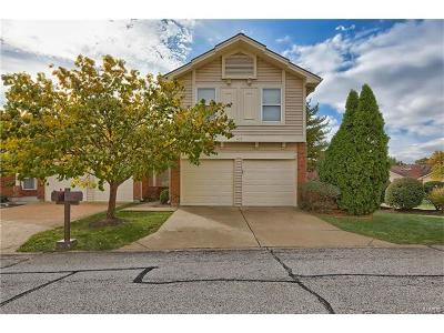 Ballwin Single Family Home For Sale: 618 Windy Ridge