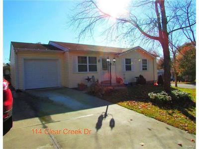 O'Fallon Single Family Home For Sale: 114 Clear Creek Drive