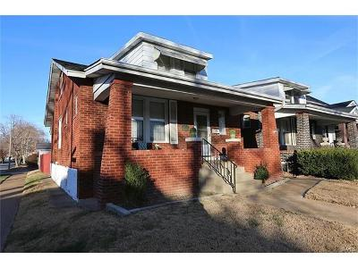 St Louis City County Single Family Home Coming Soon: 5211 Delor