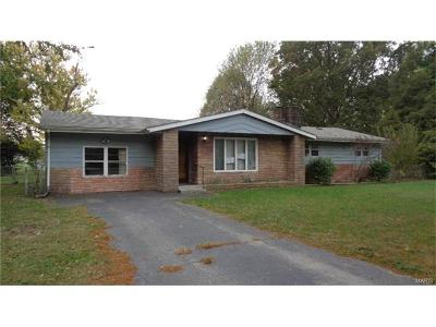 Fairview Heights Single Family Home For Sale: 22 Belle Drive
