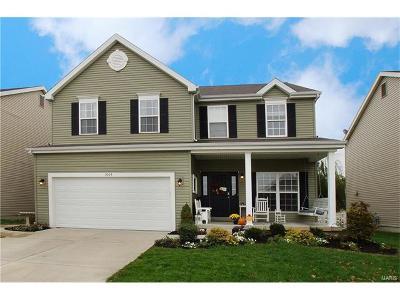 O'Fallon Single Family Home For Sale: 1004 Ashfield Lane
