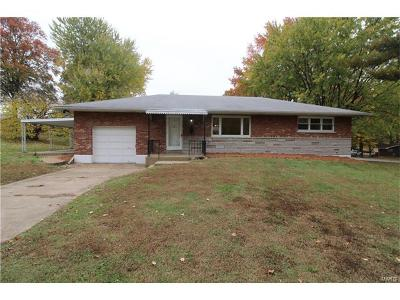 Mehlville Single Family Home For Sale: 1128 Rainbow Drive