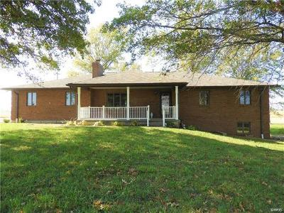 Smithton Single Family Home For Sale: 5645 State Route 159