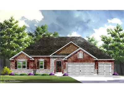 O'Fallon Single Family Home For Sale: Build Indigo@shady Creek