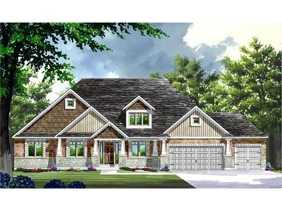 O'Fallon Single Family Home For Sale: Build Glacier@shady Creek