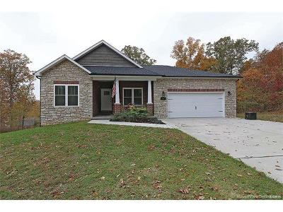 Cape Girardeau County Single Family Home For Sale: 2450 Benton Hill Road