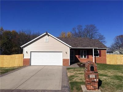 Troy IL Single Family Home For Sale: $229,000