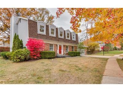 Ballwin Single Family Home For Sale: 752 Berquist Drive