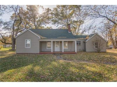 Freeburg Single Family Home For Sale: 519 North State Street