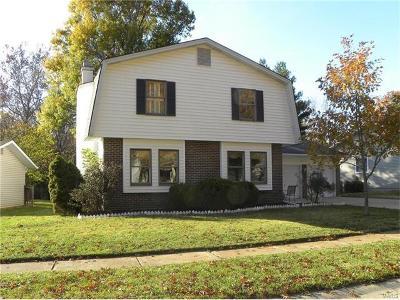 Ballwin Single Family Home For Sale: 821 Justerini Drive